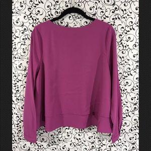 Bar III Tops - Bar III purple layered blouse